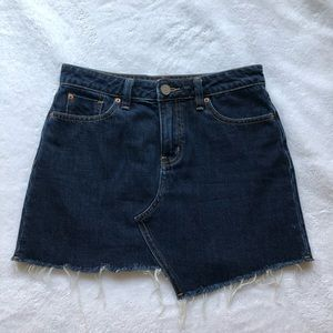 BDG Asymmetrical Denim Skirt